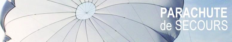 Parachute de secours